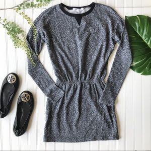 BCBGeneration dress casual sweatshirt grey black